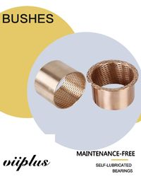 Diamond Phosphor Bronze Bushes & Oil Washer Grooves หลุม CW453K CuSn8 ผู้ผลิต